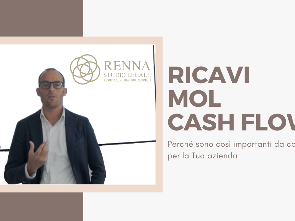 Ricavi, mol e cash flow