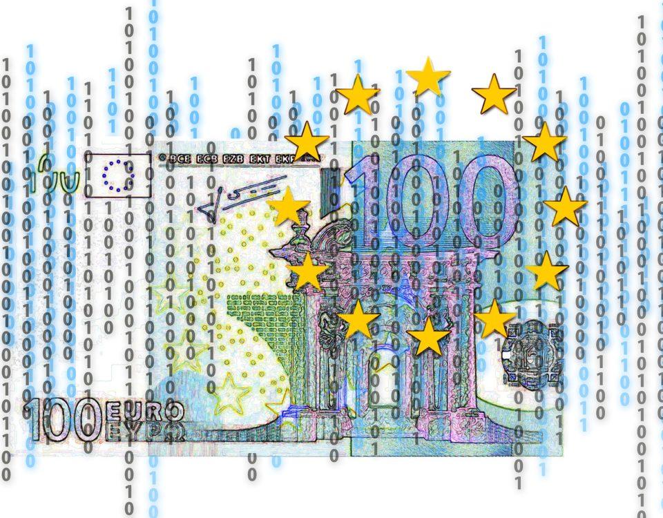 100 Euro provenienti dall'europa