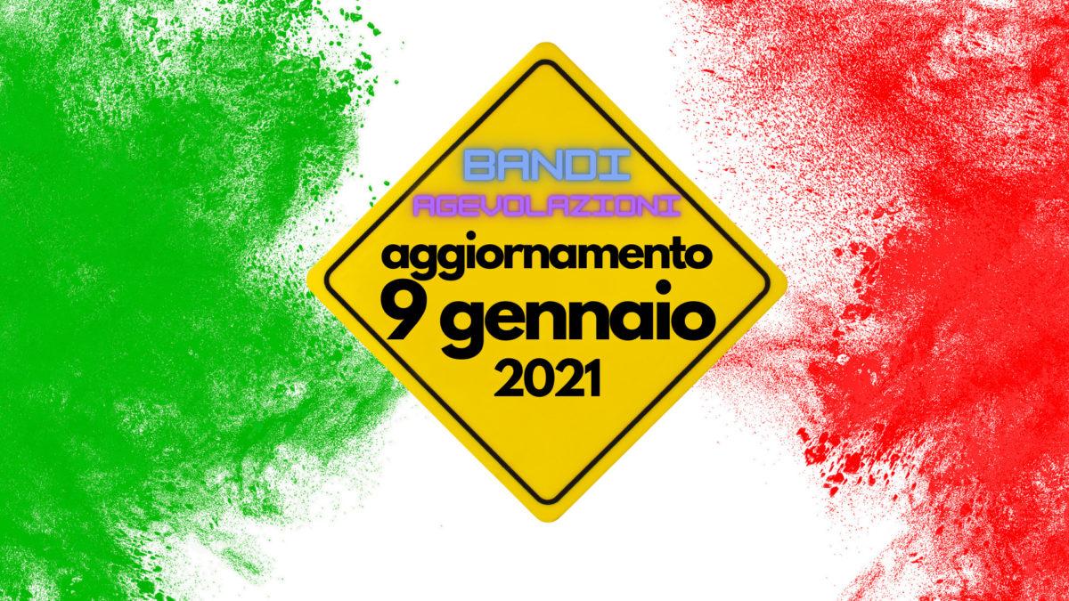 Bandi Aggiornati 9 Gennaio 2021