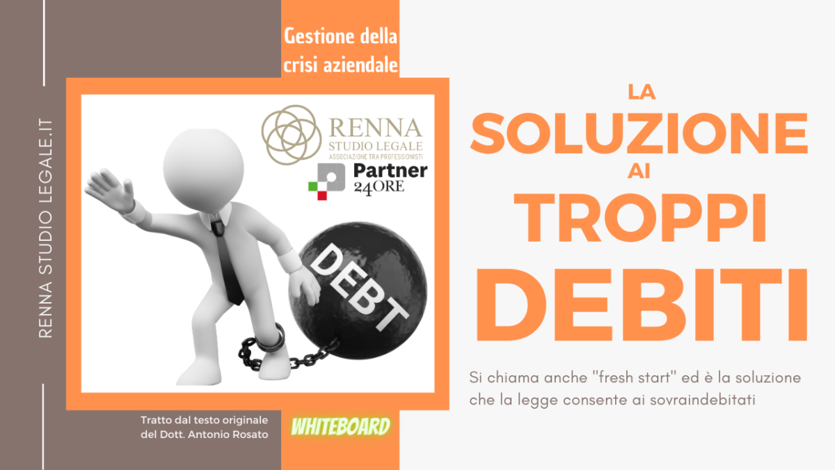 La soluzione ai troppi debiti