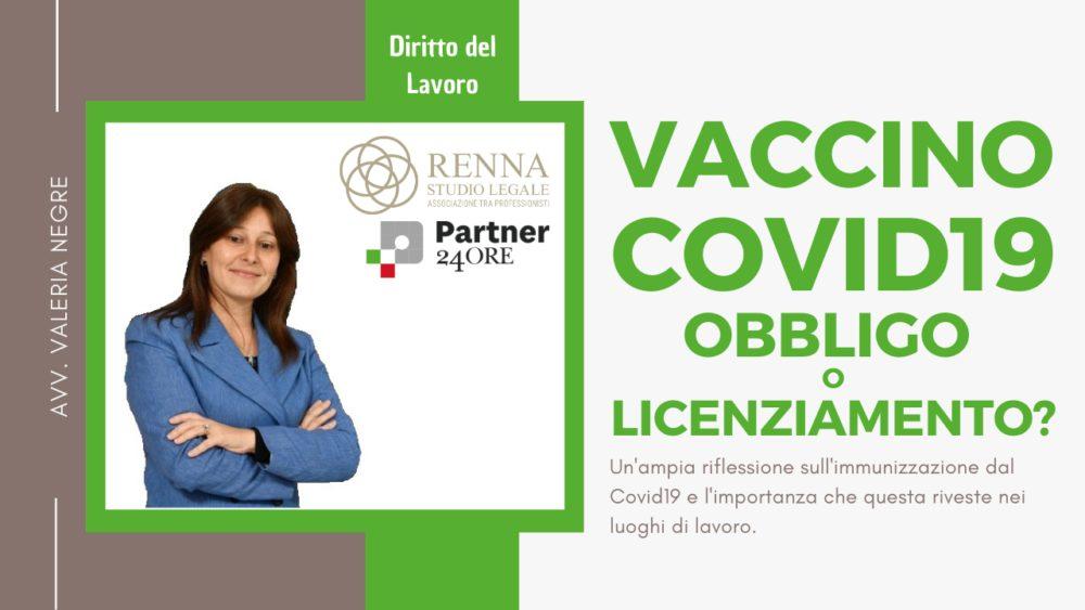 Vaccino Covid19 obbligo